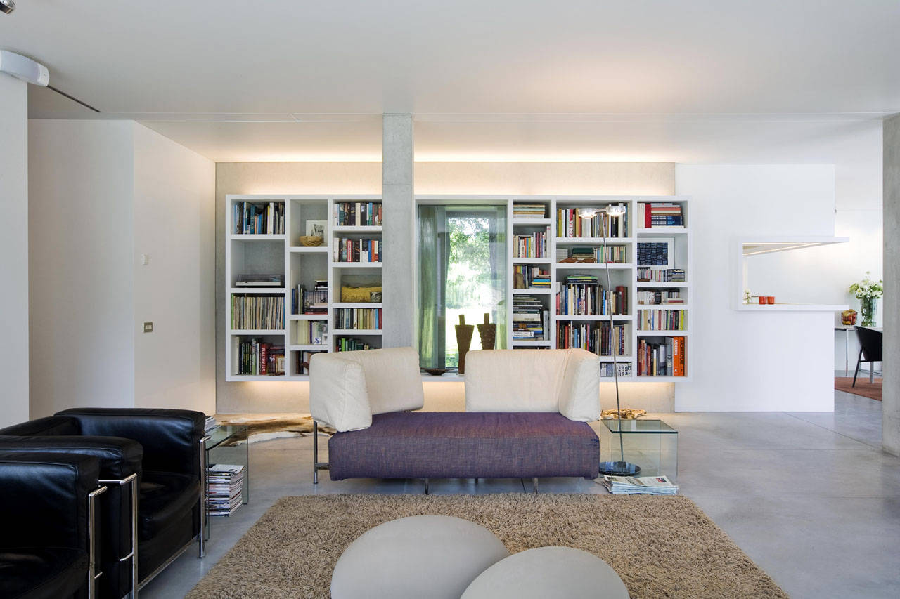 house and design studio in kortrijk by devolder architecten