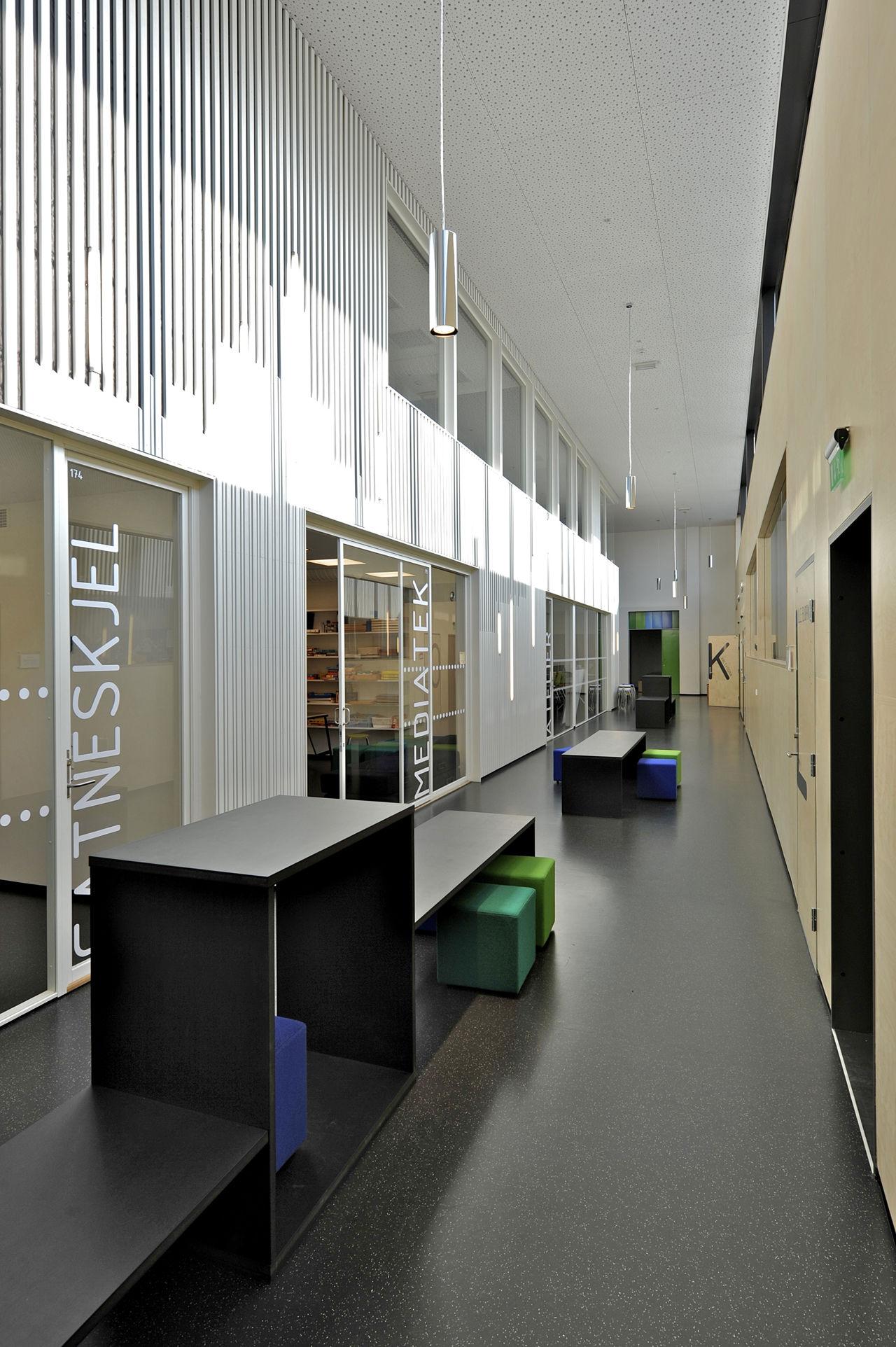 Tonstad School And Publich Bath By Filter Arkitekter