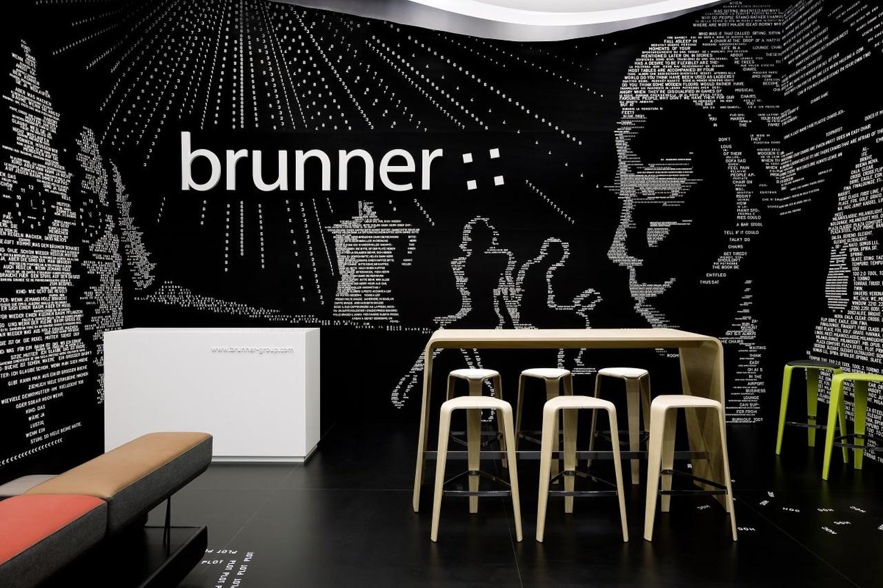 brunner fair stand at salone del mobile by ippolito fleitz group karmatrendz. Black Bedroom Furniture Sets. Home Design Ideas