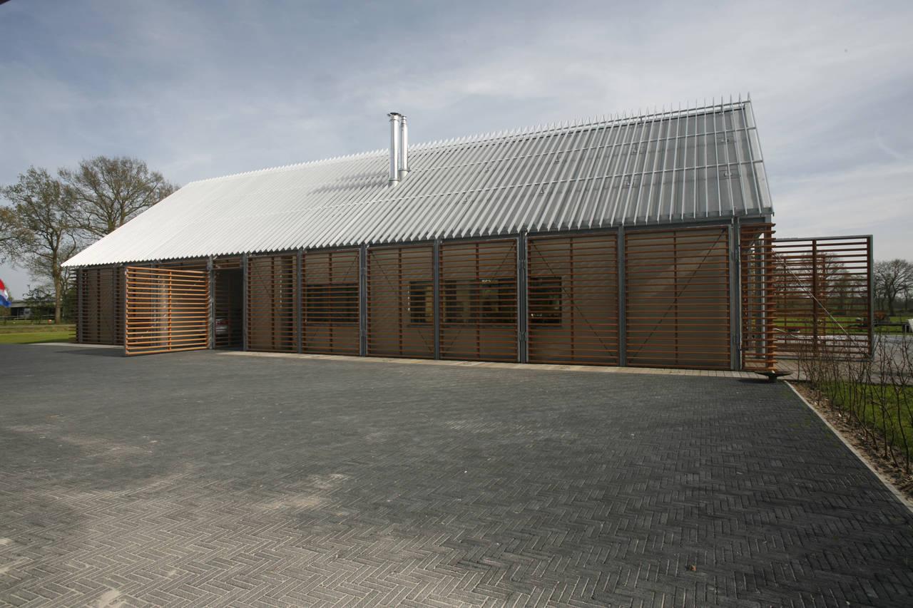 barn house eelde by kwint architects aat vos karmatrendz. Black Bedroom Furniture Sets. Home Design Ideas