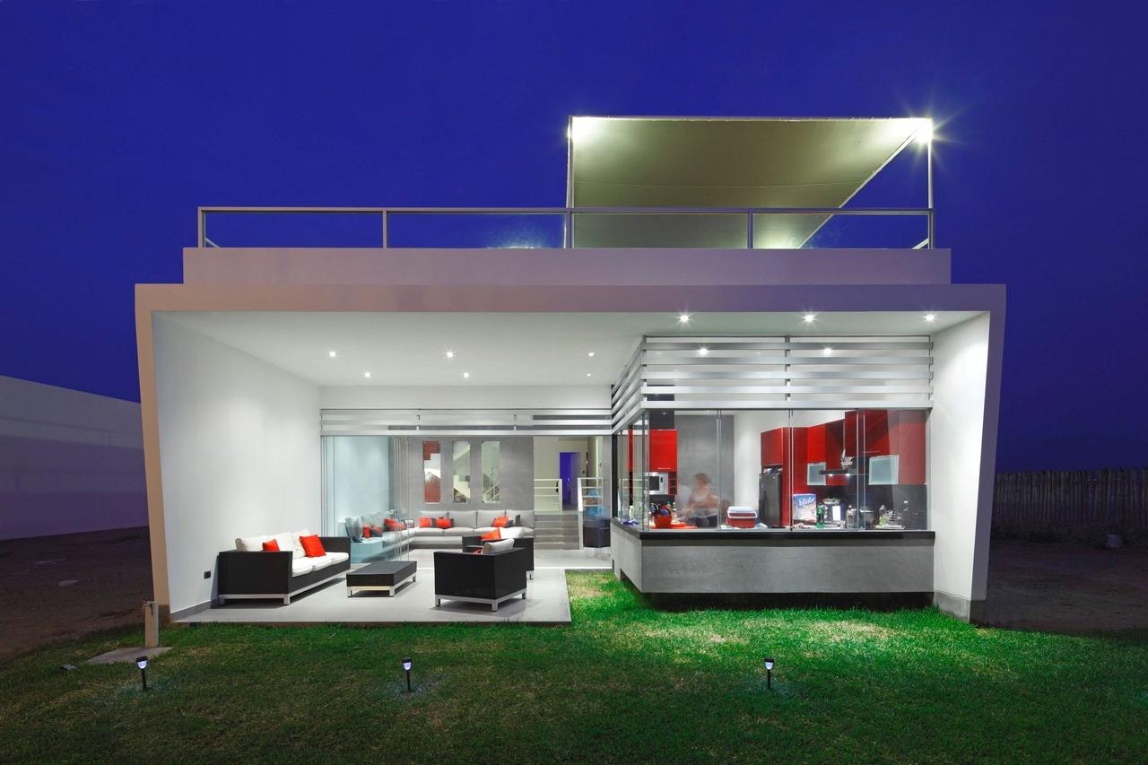 Casa graffiti by gomez de la torre y guerrero arquitectos for Casas minimalistas modernas