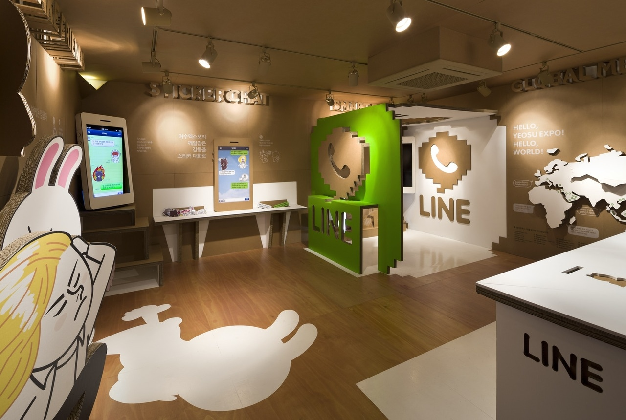 naver app square pop up store