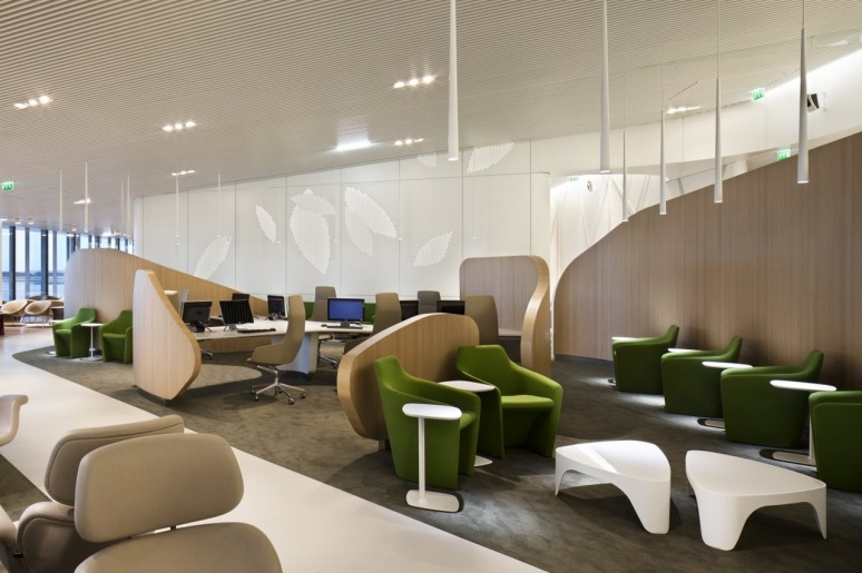 Air France Business Lounge by Noé Duchaufour-Lawrance and Brandimage ...