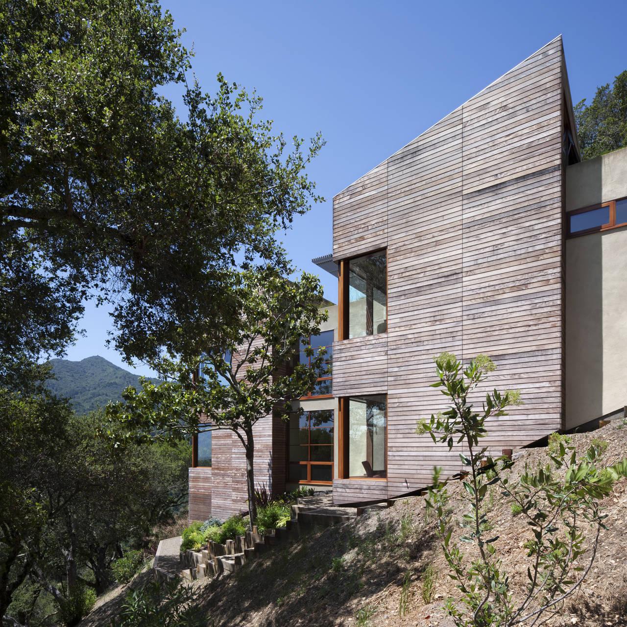 Kentfield Hillside Residence By Turnbull Griffin Haesloop
