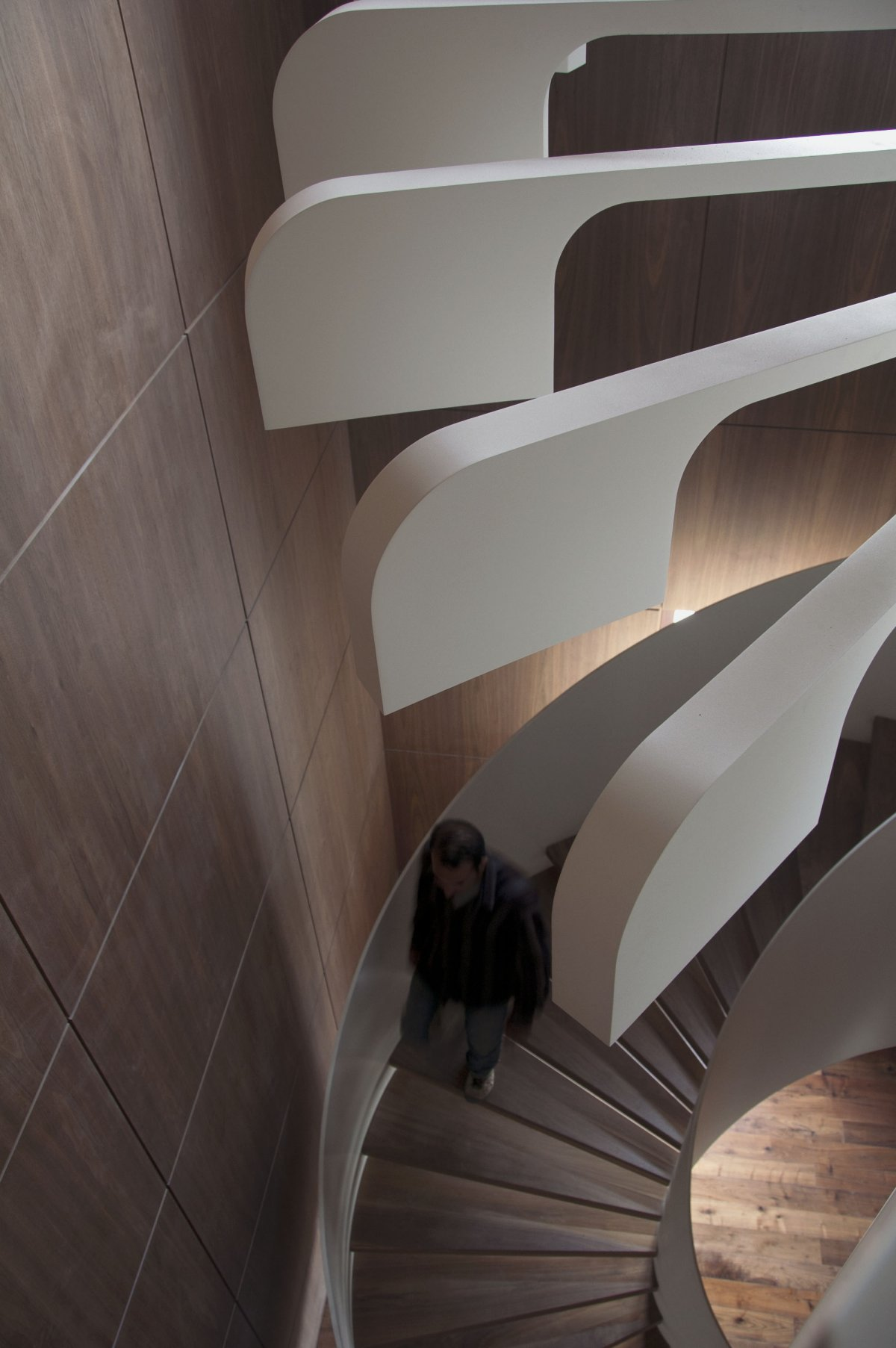 spiral staircase lighting. The Constraints Encountered Came Not From Space But Lighting Fixture Itself Which Required Special Handling To Turn A Concept Into Reality. Spiral Staircase
