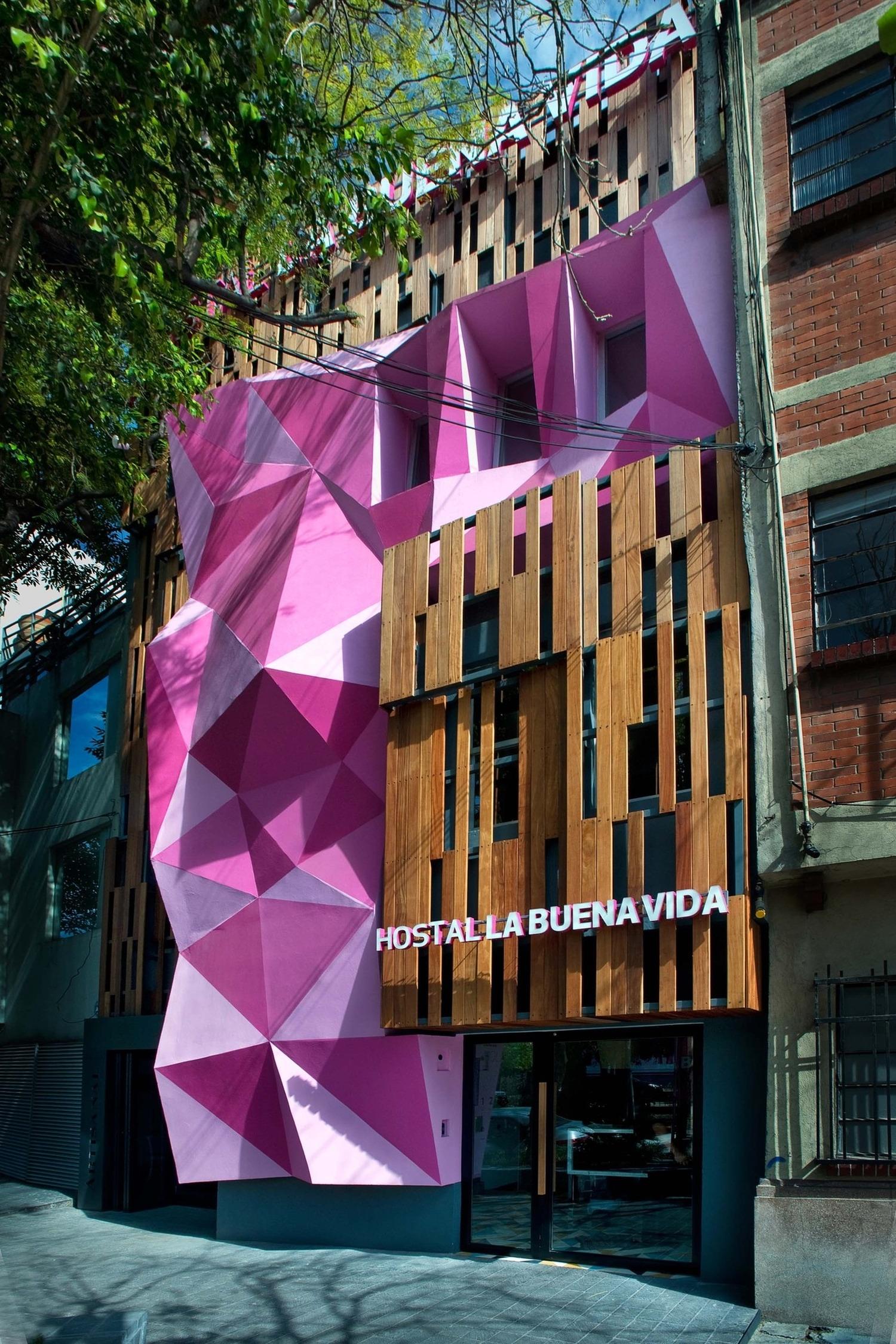 Hostel la buena vida by arco arquitectura contempor nea for Arquitectura contemporanea
