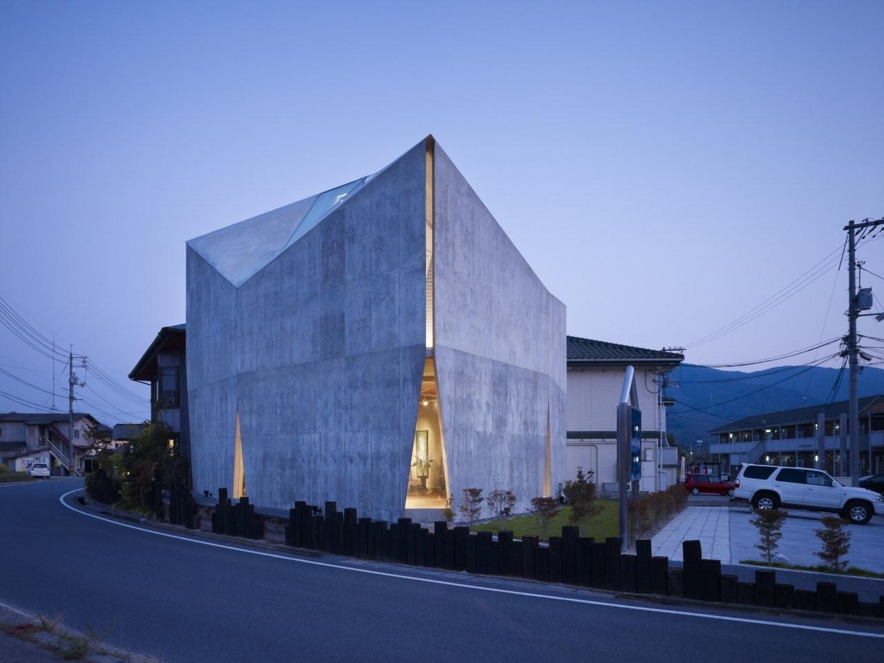 Mecenat art museum by naf architect design karmatrendz for Museum designers