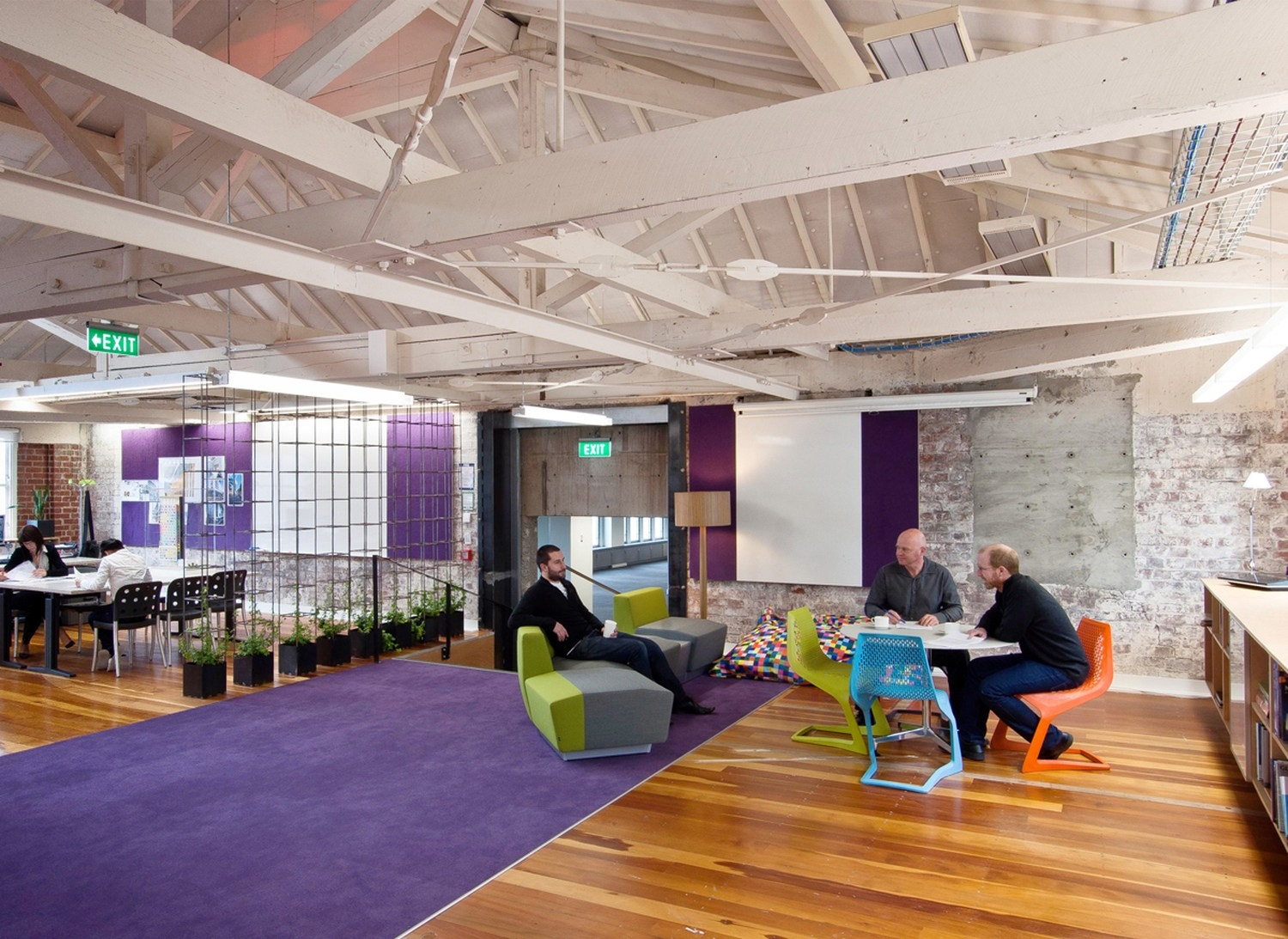 stephenson turner wellington design studio fit out by
