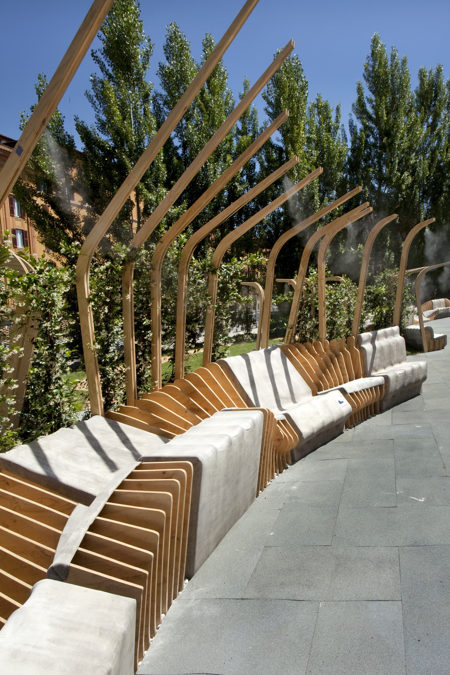 Photos Courtesy of Fondazione MAXXI  Cecilia Fiorenza, Urban Movement  Design