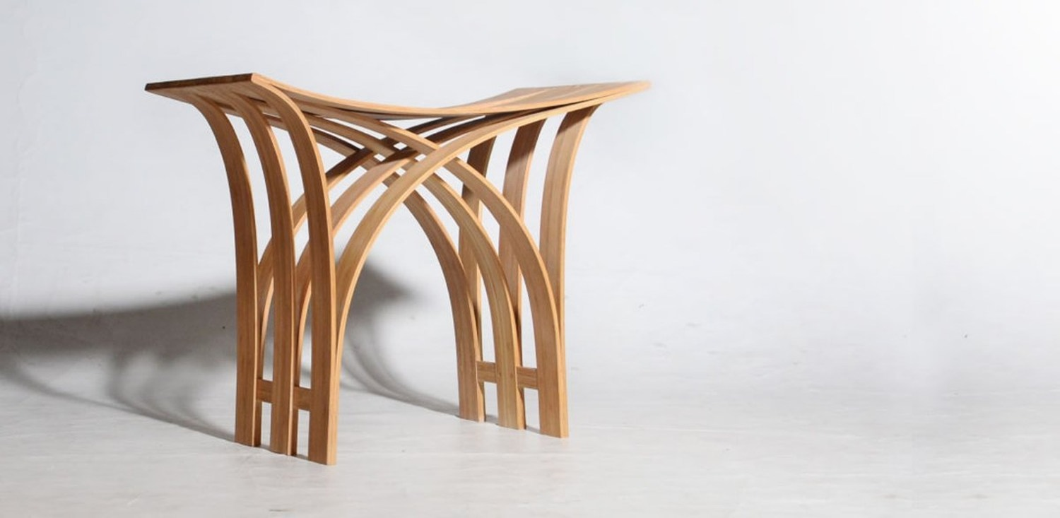Flexible Bamboo Stool By Grass Studio Karmatrendz