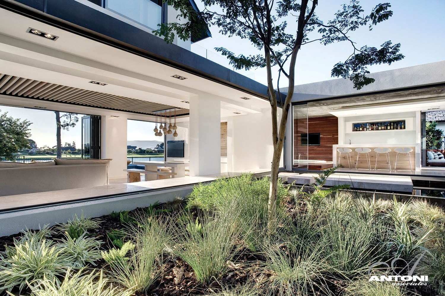 Antoni associate has completed the interior of the pearl valley 334 house located in cape town south africa photos by adam letch
