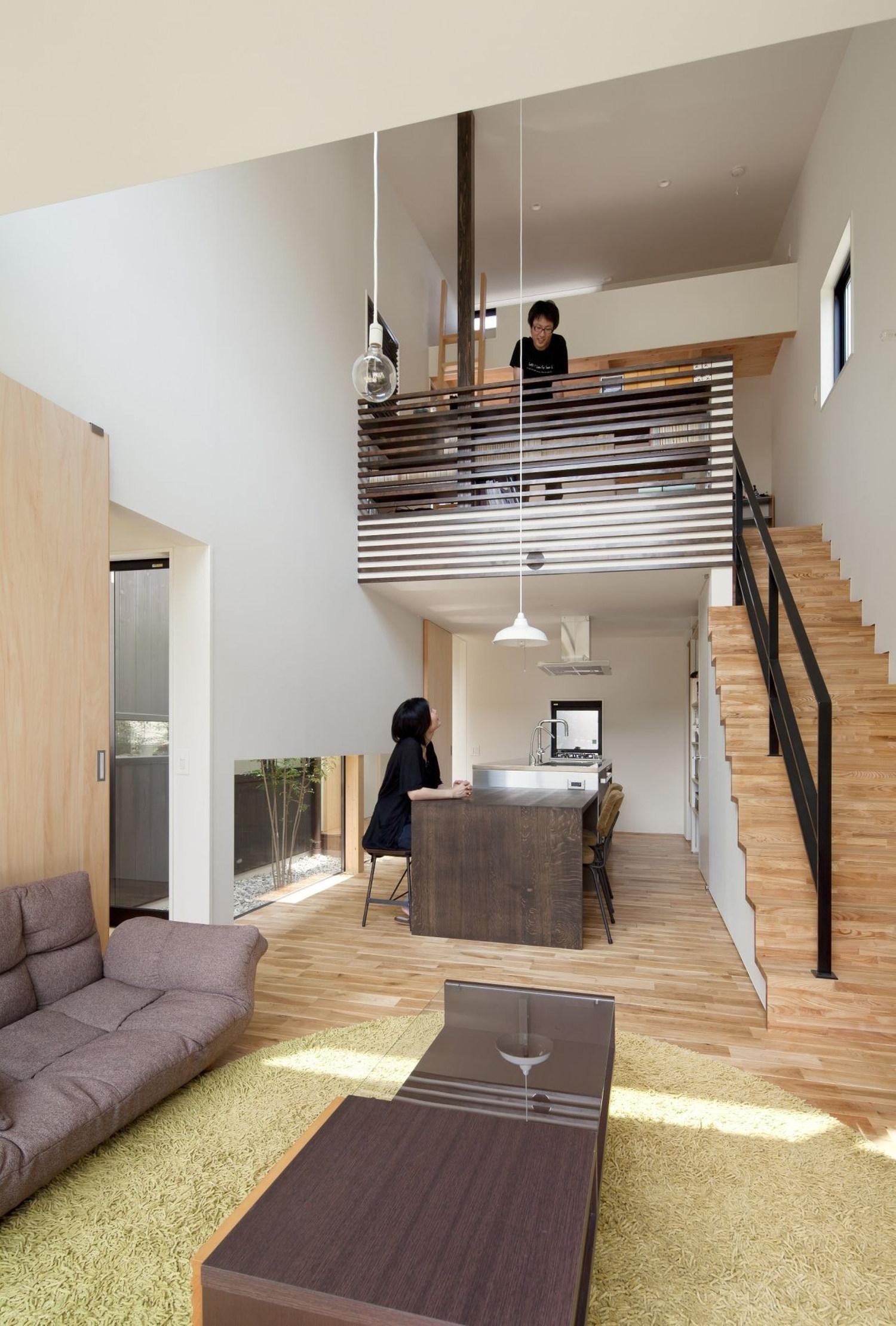 Niu house by yoshihiro yamamoto architect atlier karmatrendz for Arredamento moderno casa piccola