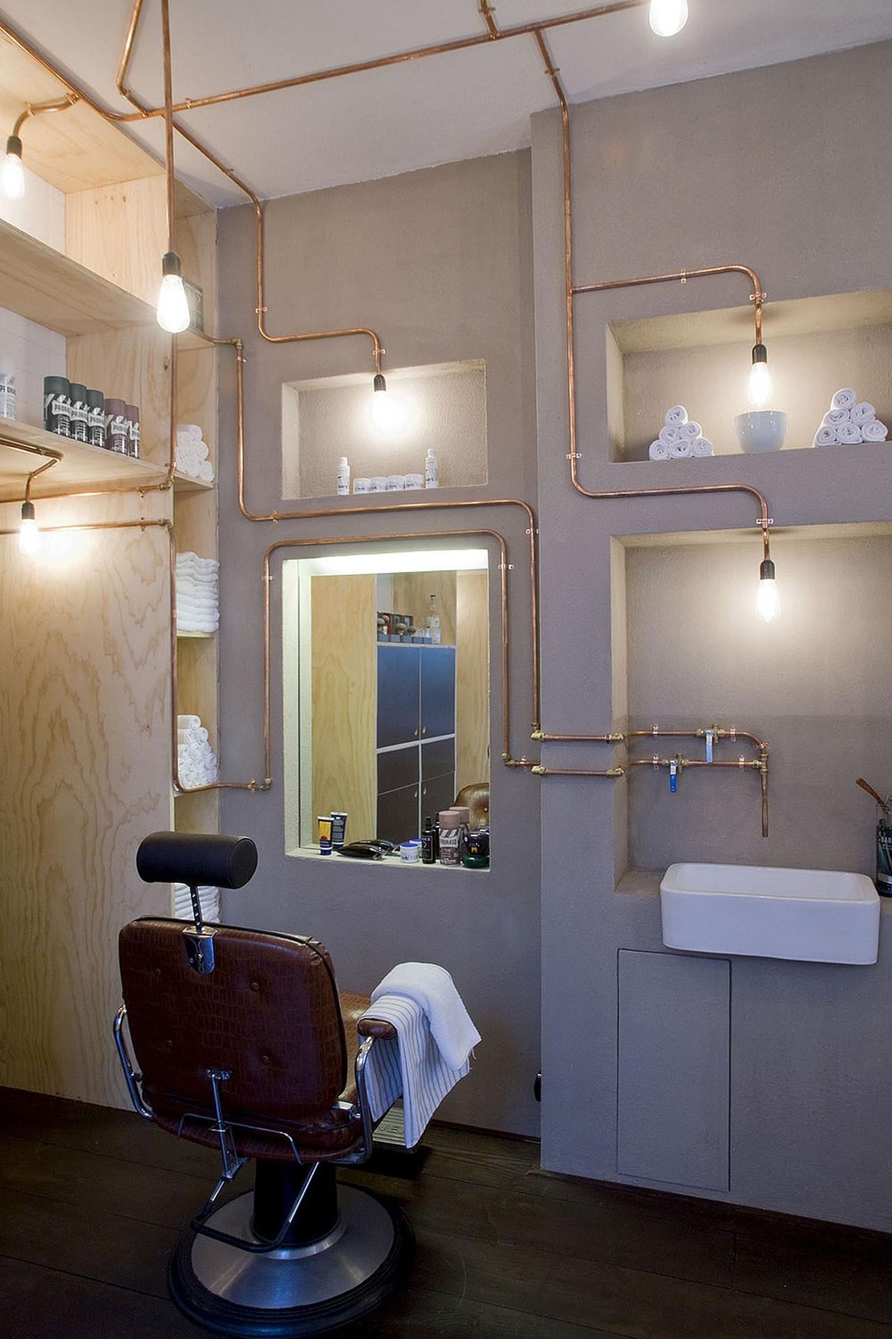 Barber shop by ard hoksbergen karmatrendz - Barber shop interior ...