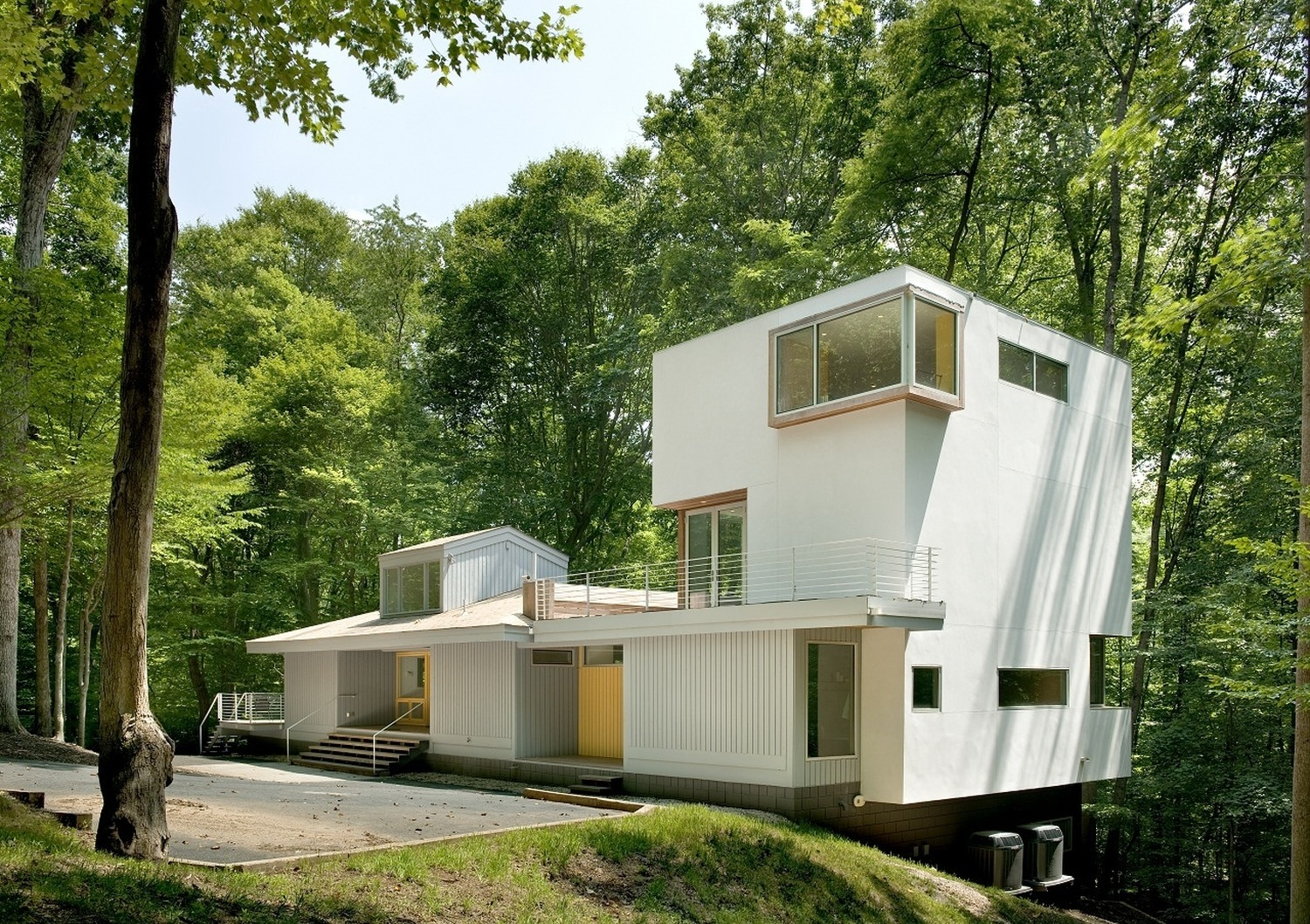 forest house architecture forest house by kube architecture karmatrendz 291