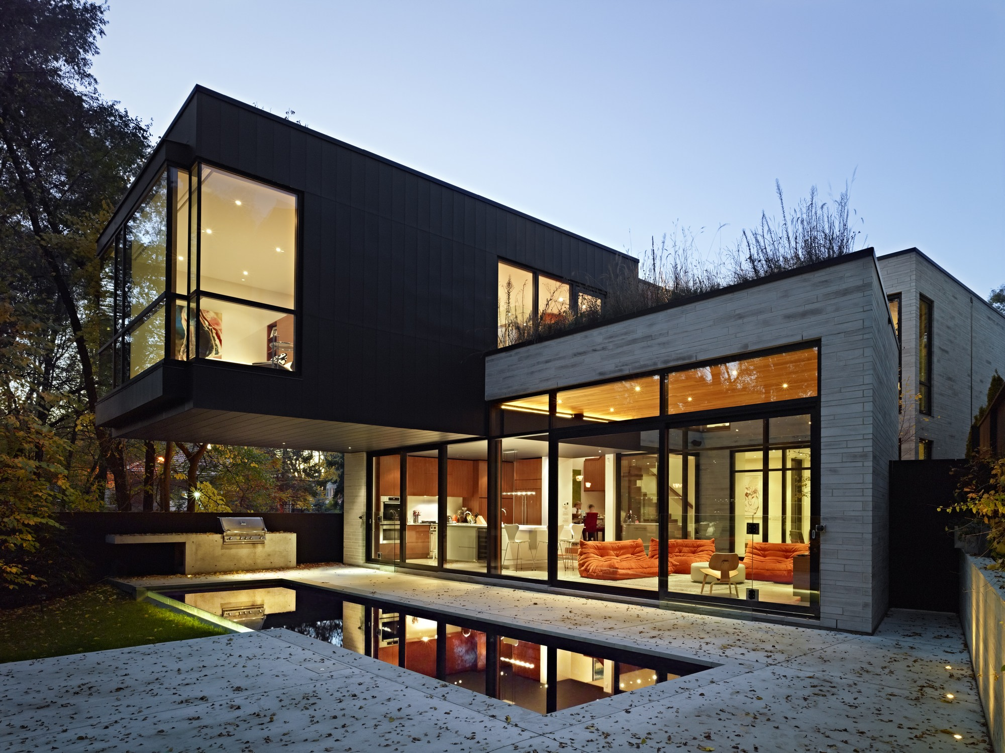 architecture houses glass. 120325_Cedarvale_Ravine_House_01__r Architecture Houses Glass