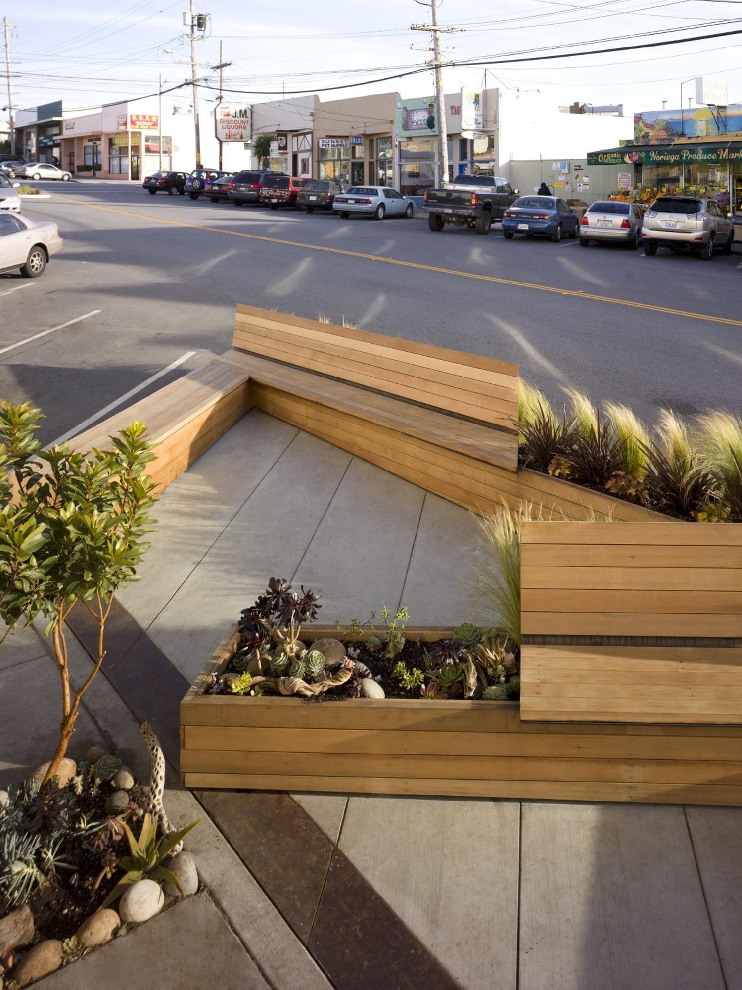 Noriega Street Parklet by Matarozzi Pelsinger Design Build