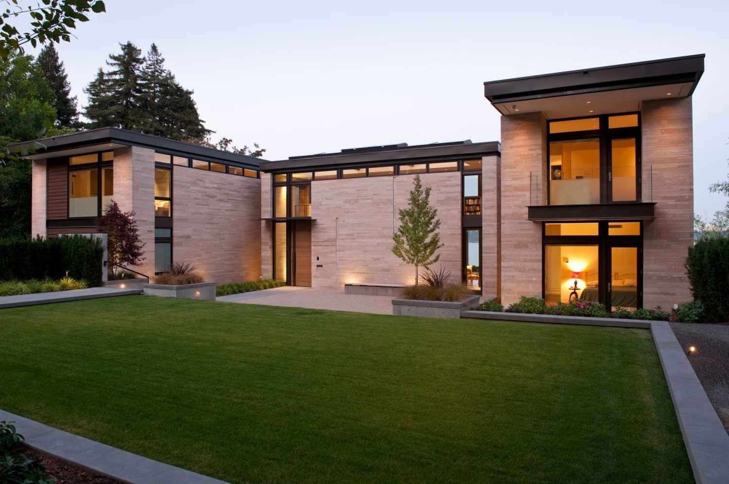 washington park hilltop residence by stuart silk