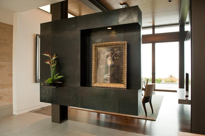 Washington park hilltop residence by stuart silk - Built in room dividers ...