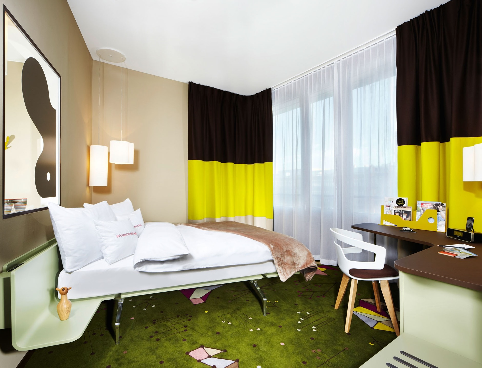 25hours hotel in z rich by alfredo h berli design for Interior decoration zurich