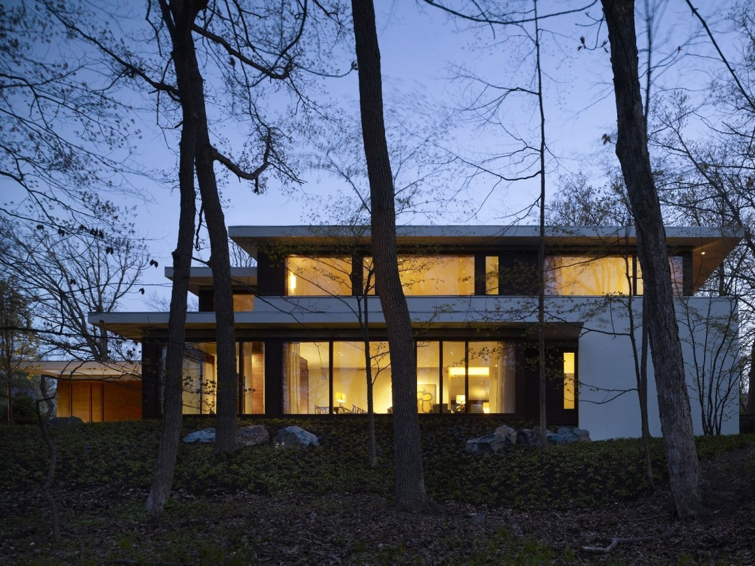 Glencoe residence by robbins architecture karmatrendz for Robbins architecture