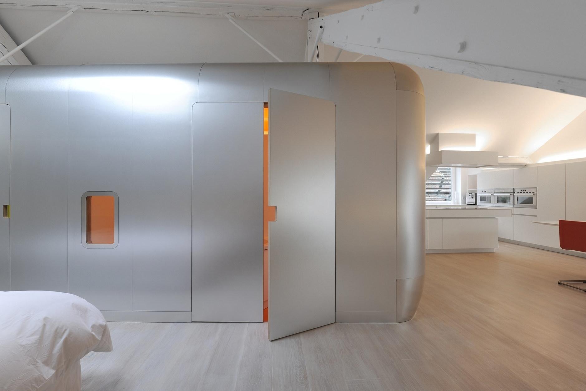 Kempart Loft by Dethier Architectures   KARMATRENDZ