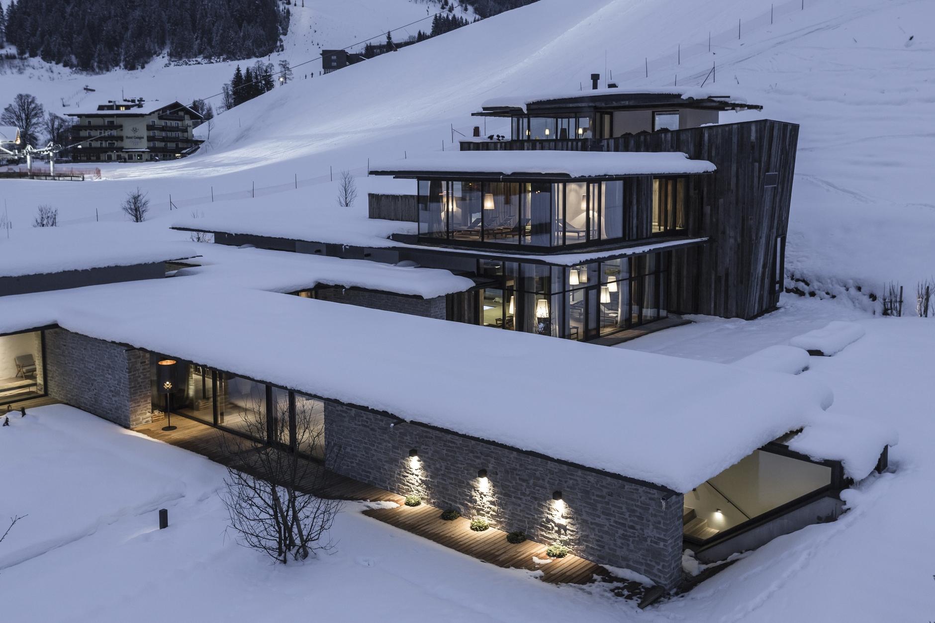 Hotel wiesergut by gogl architekten karmatrendz for Designhotel innsbruck