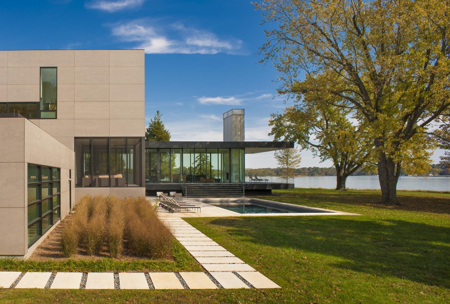 Tred Avon River House By Robert M Gurney Architect