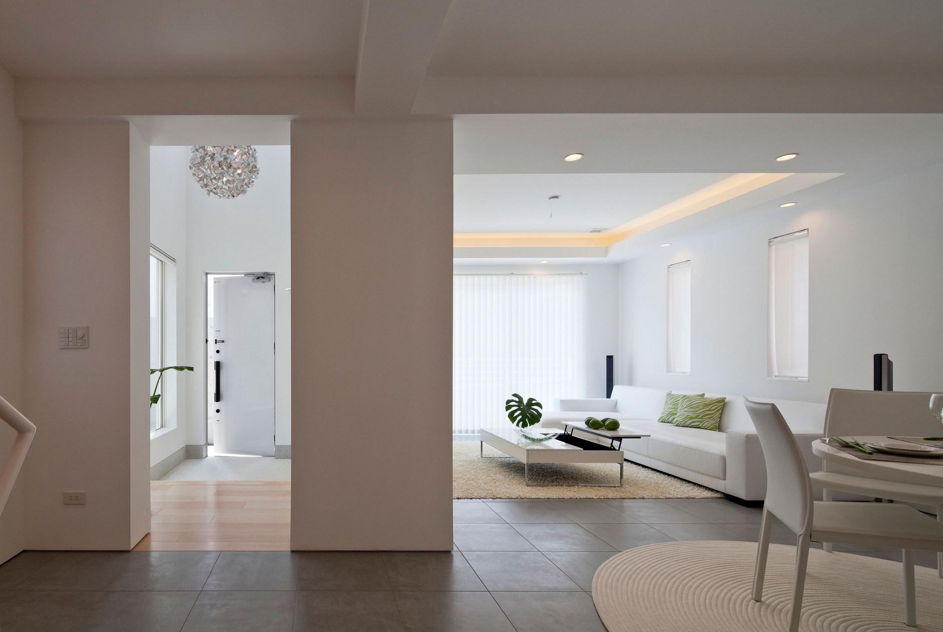 Modern zen house by rck design karmatrendz for Modern house zen design