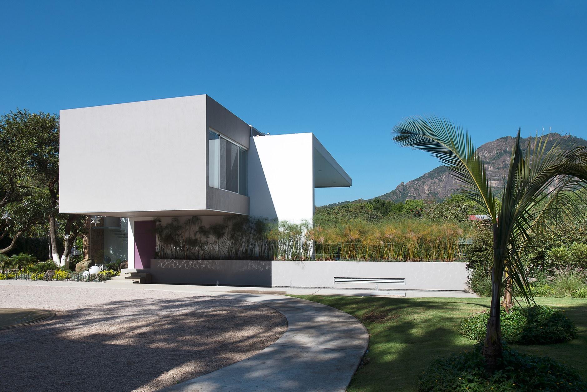 Casa del viento by a 001 taller de arquitectura karmatrendz - Arquitectura de casas ...