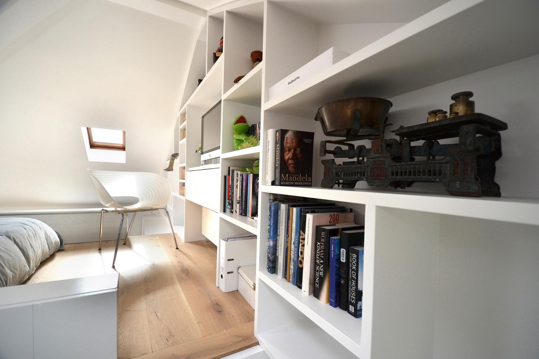 Loft space in camden by craft design karmatrendz - Small loft space model ...