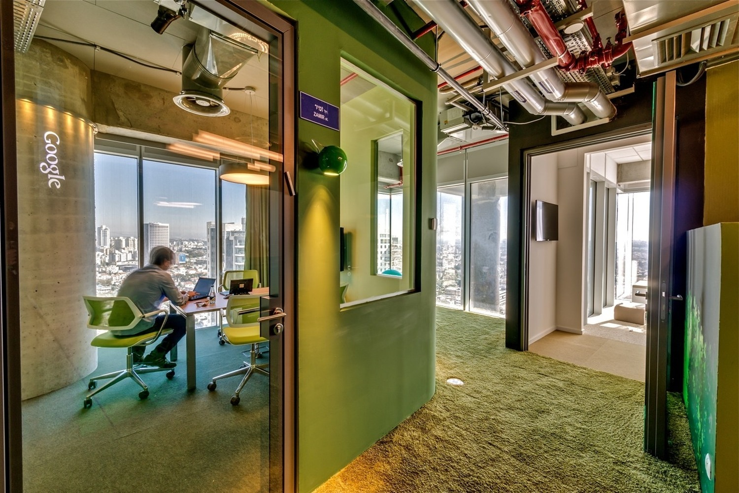Google Tel Aviv Office By Camenzind Evolution Karmatrendz