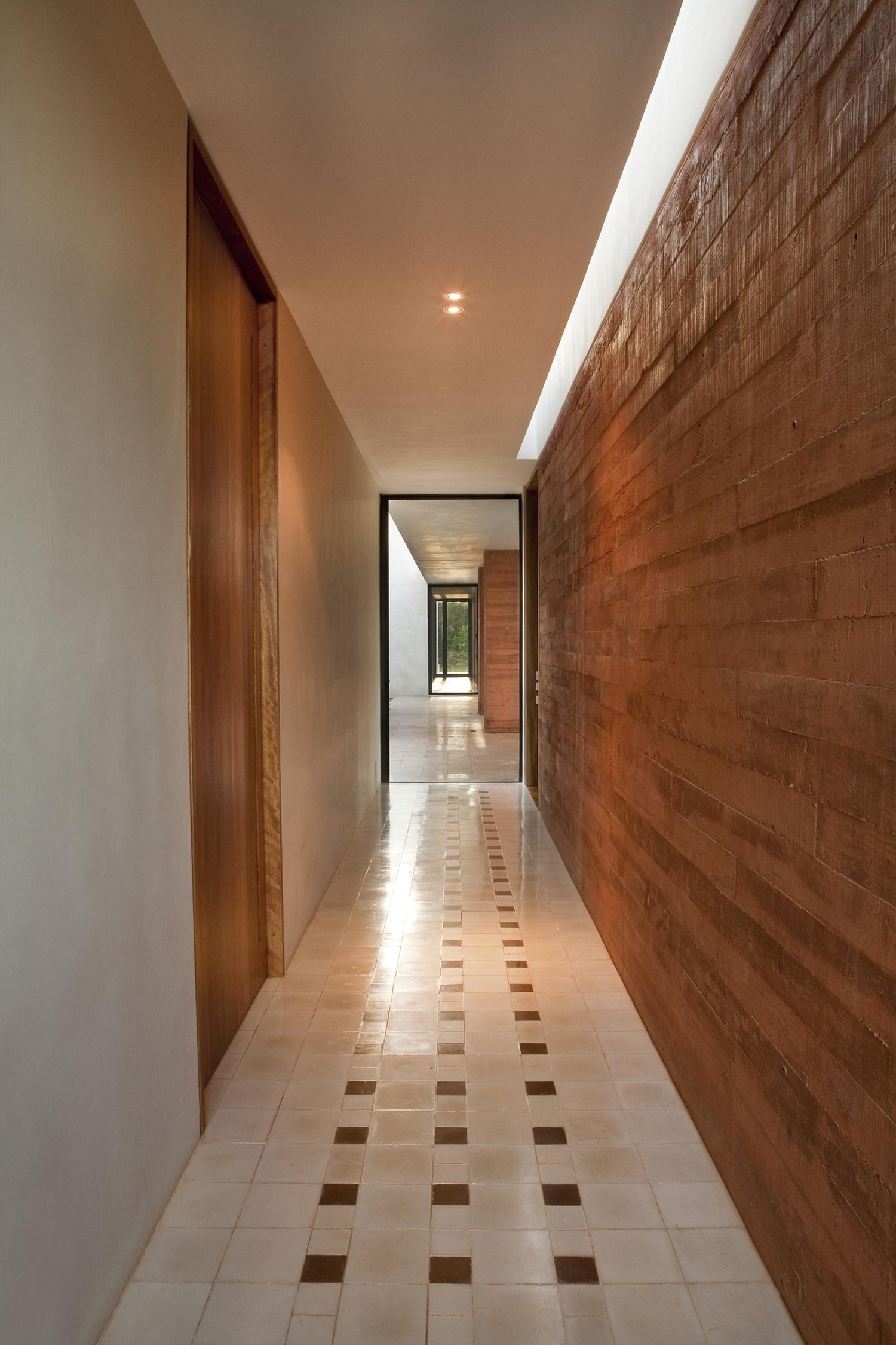 Corridor Roof Design: Bacoc Hacienda By Reyes Ríos + Larraín Arquitectos