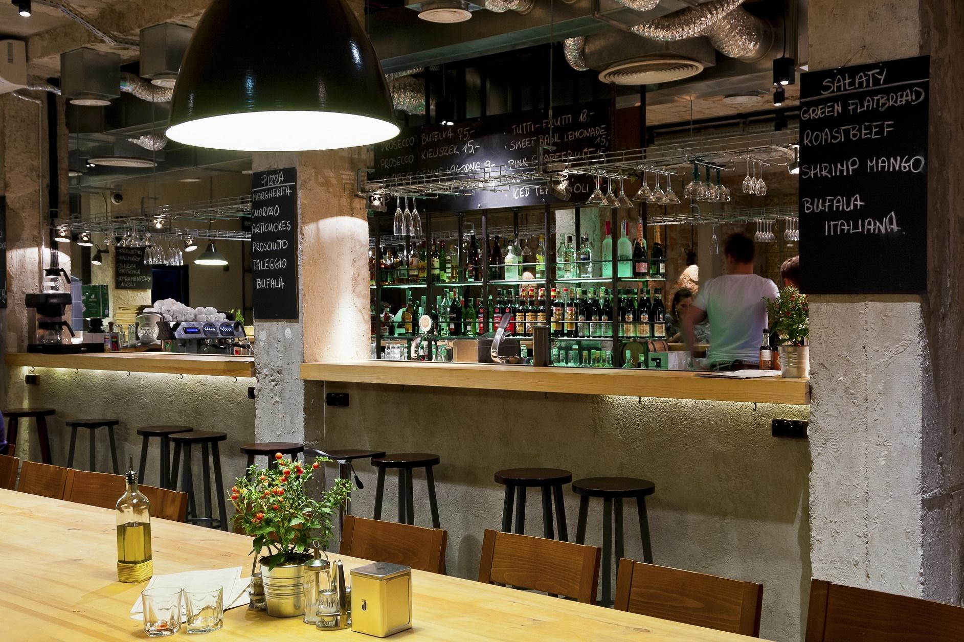 Aïoli cantine bar café deli by a d retail store design