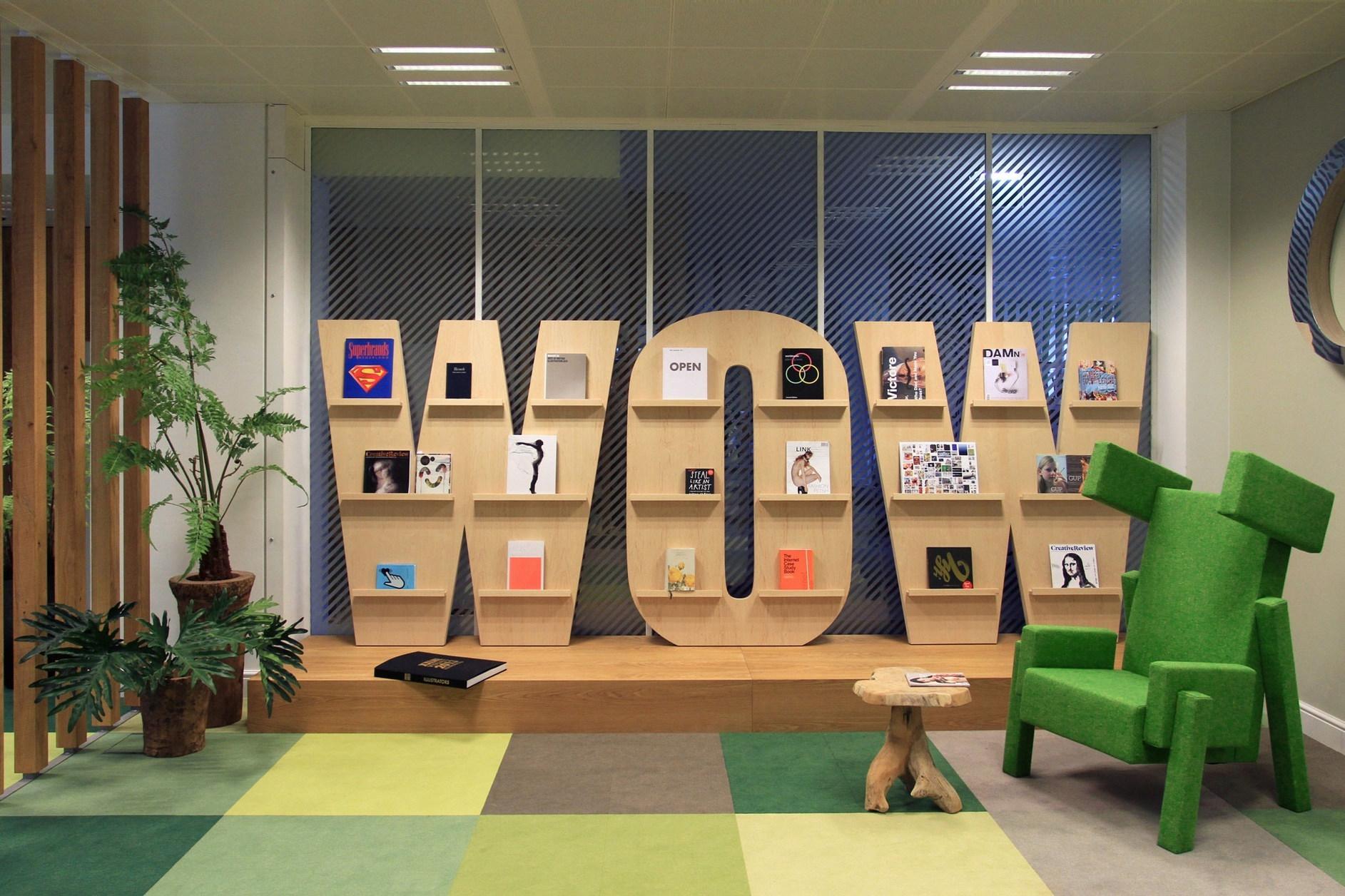 Jwt amsterdam office by koudenburg elsinga karmatrendz for Fun office interiors