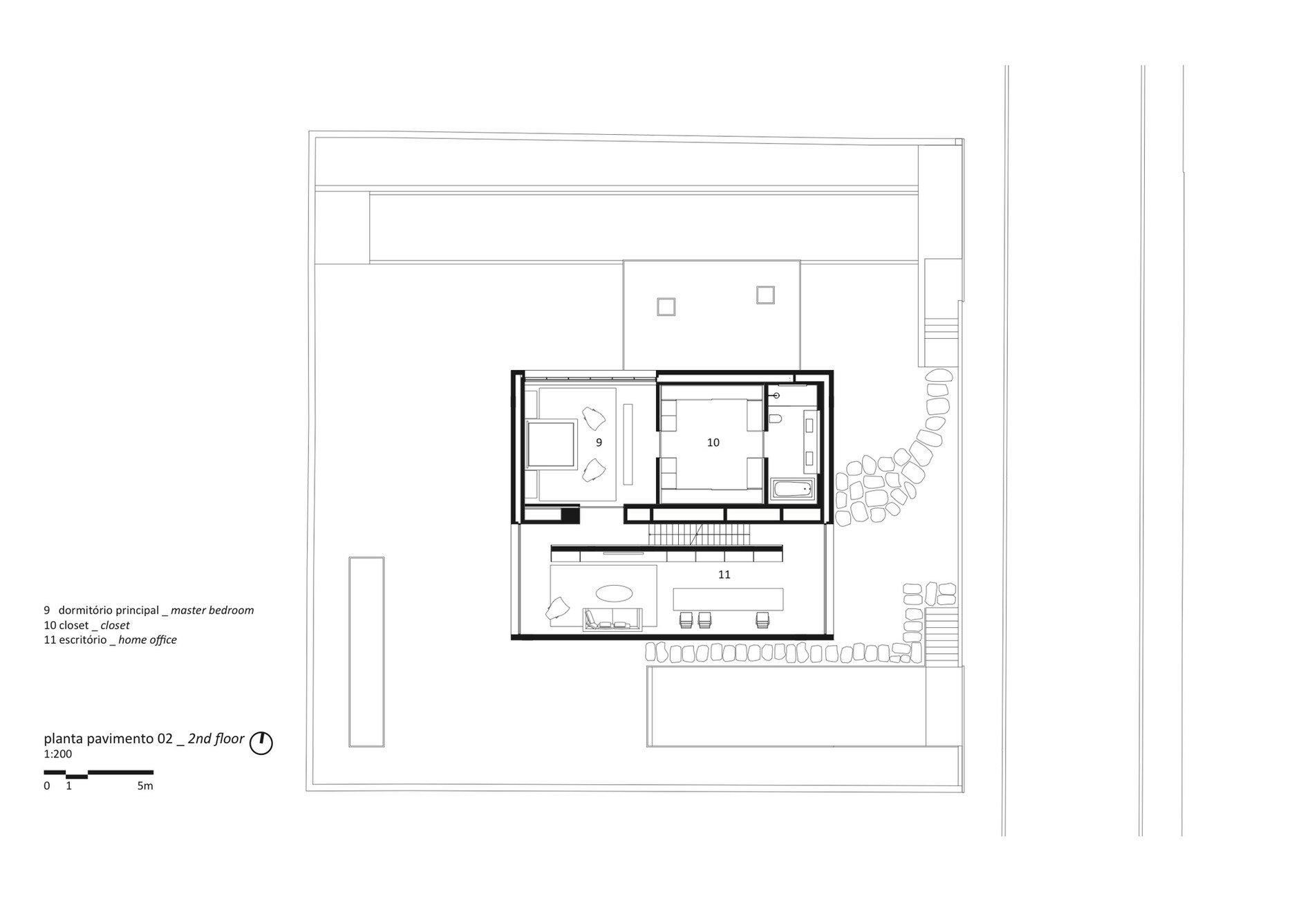 Cube house by studio mk27 marcio kogan suzana Cube house plans