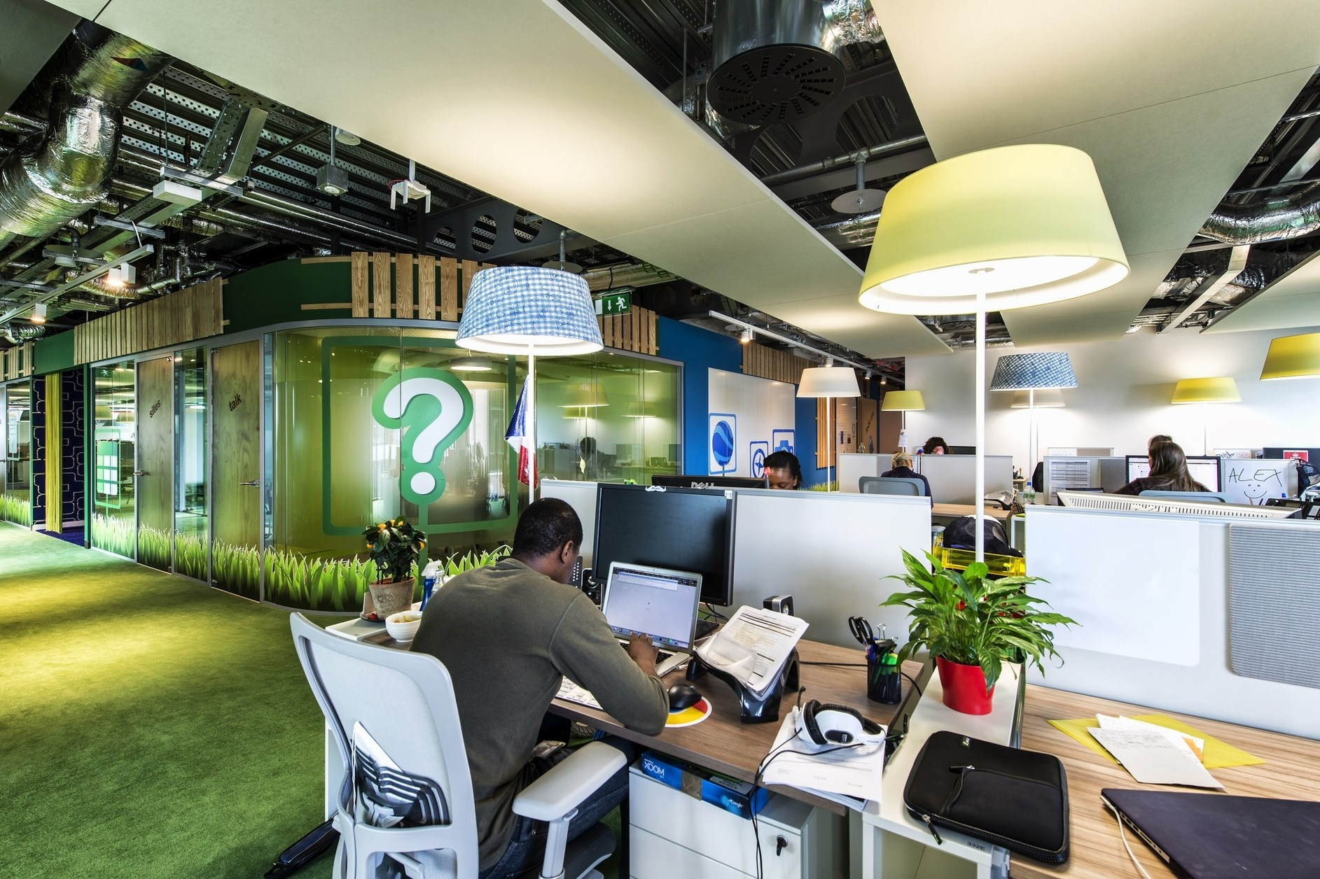 Google campus dublin by camenzind evolution henry j for Dublin interior design firm