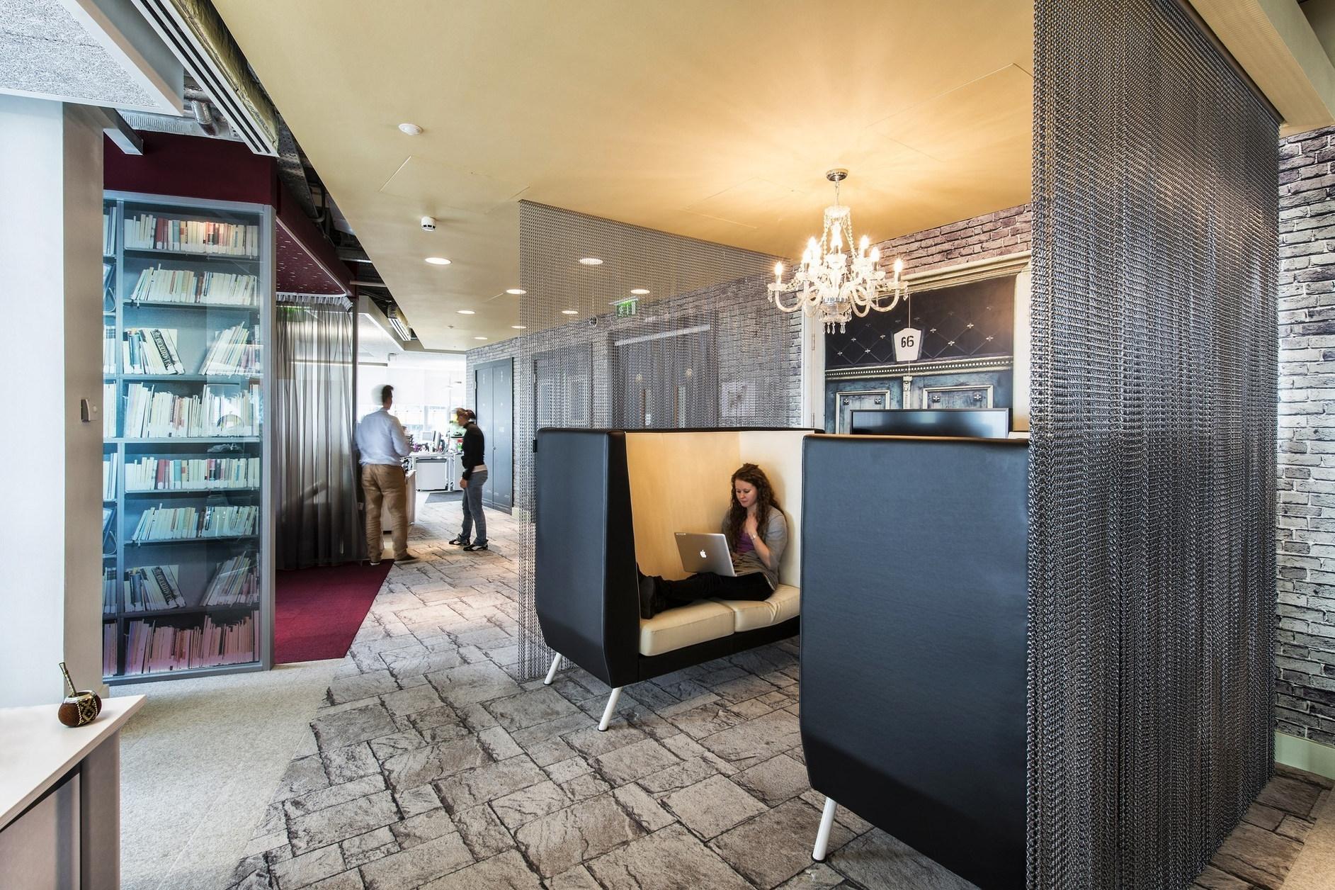 Google campus dublin by camenzind evolution henry j - Office cabin interior design images ...