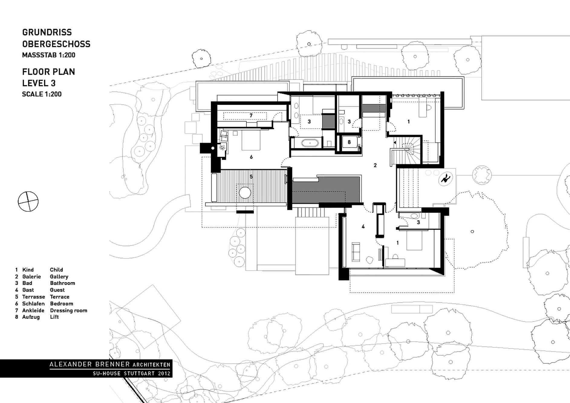 Su House By Alexander Brenner Architects Karmatrendz