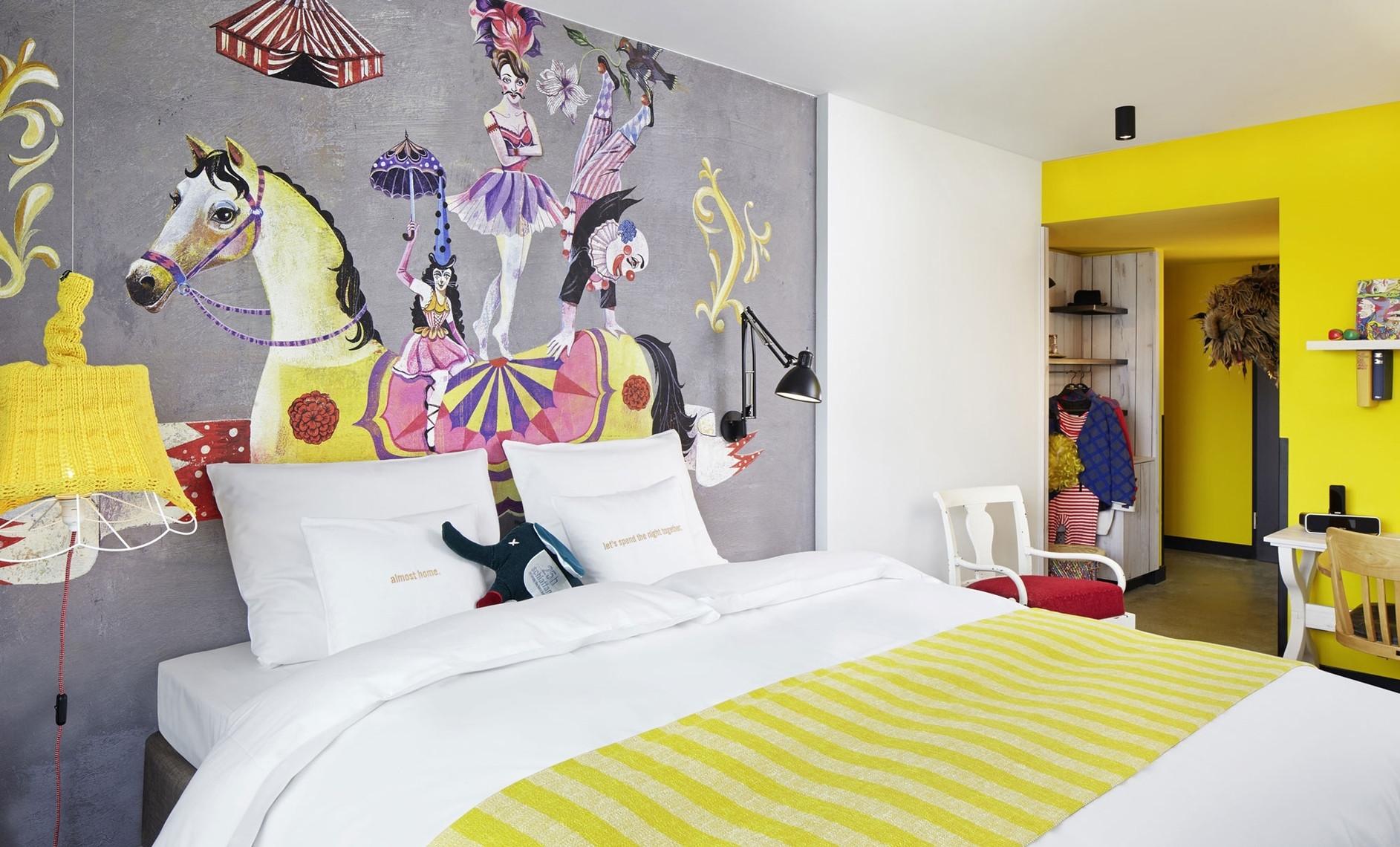 25hours hotel vienna by dreimeta karmatrendz for Design hotel 25 hours vienna