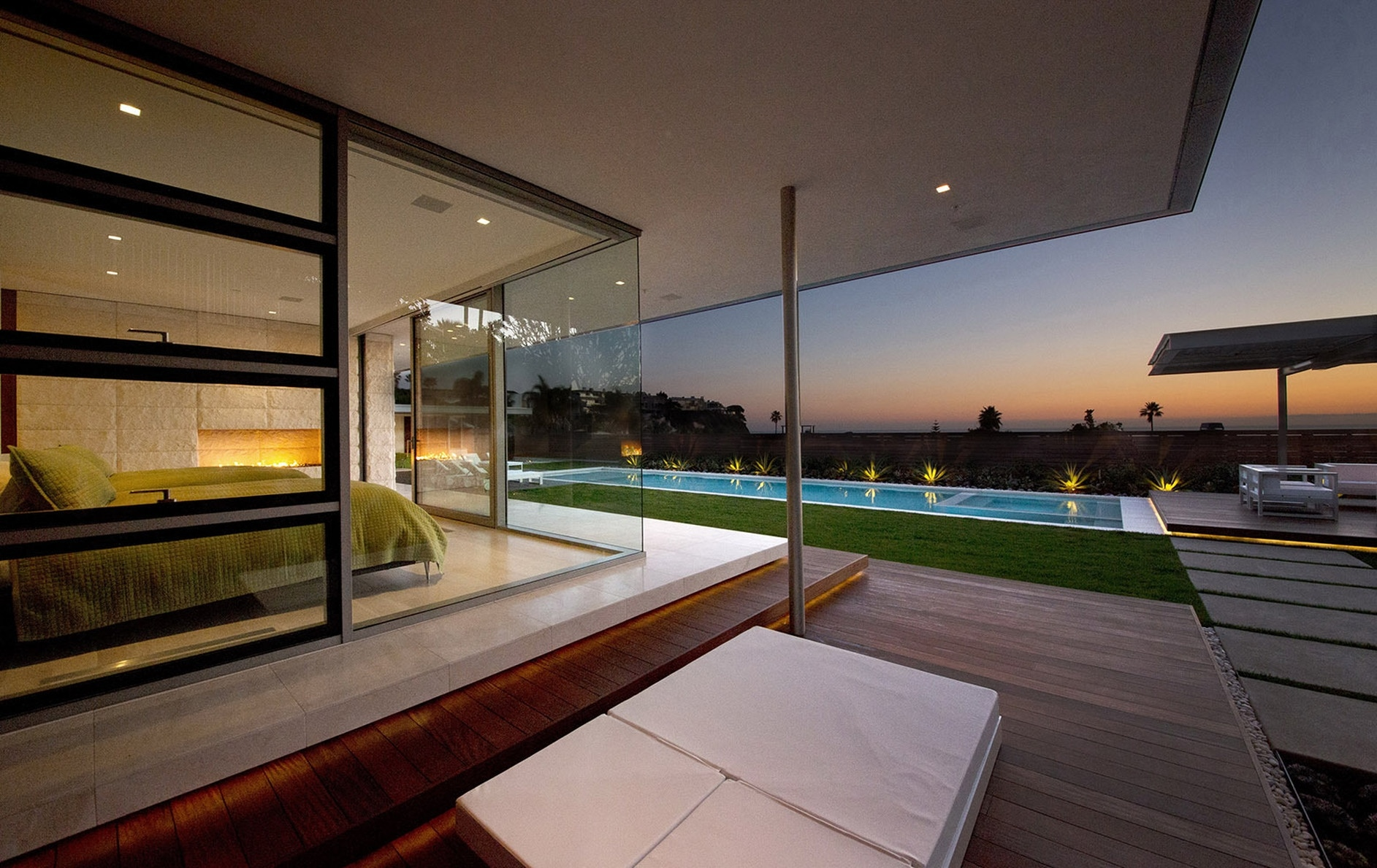 Mcelroy house by ehrlich architects karmatrendz - Limposante residence contemporaine de ehrlich architects ...