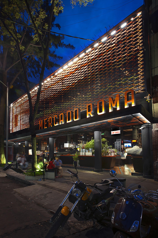 Mercado roma by rojkind arquitectos cadena y asociados - Galeria comercial ...