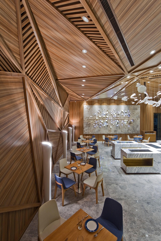 Restaurant Design Trends 2015 : Yue restaurant by panorama karmatrendz